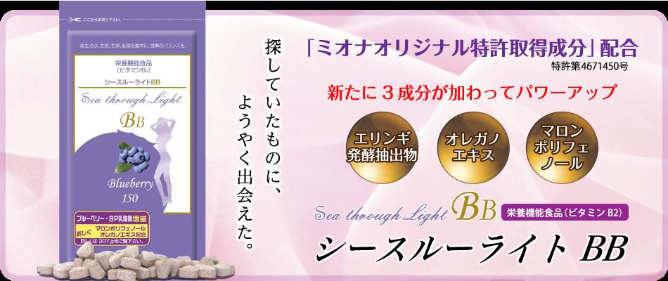 大ヒット中シースルーライトBBがパワーアップ!!
